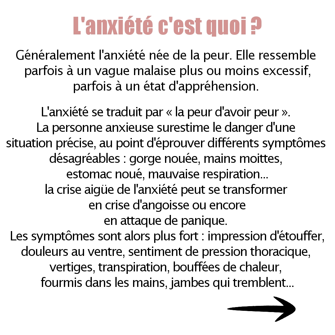 Troubles anxieux - Ingrid Houtcief Sophrologue