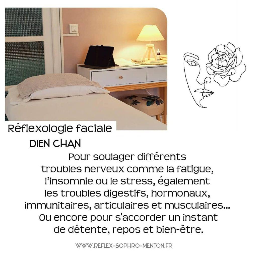 Cabinet de Réflexologie faciale Menton 06500 - Ingrid Houcief