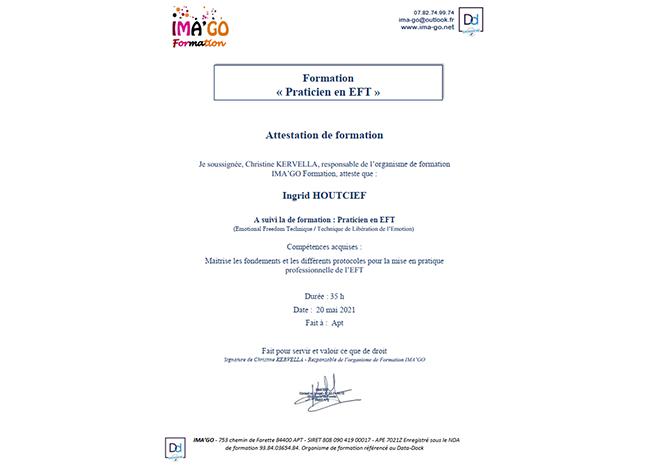 Praticienne EFT - 06500 Menton